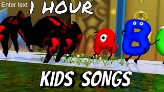 Itsy Bitsy Spider & Many More Songs | The Alphabets | ABC ...