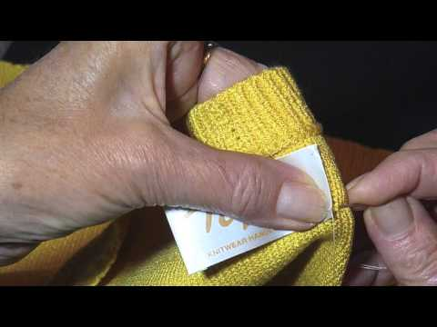 Cloth Name Tags To Sew In Clothes