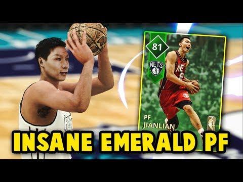 NBA 2K18 MyTEAM EMERALD YI JIANLIAN GAMEPLAY!! IS THIS THE BEST EMERALD? | MyTEAM SUPER MAX GAMEPLAY