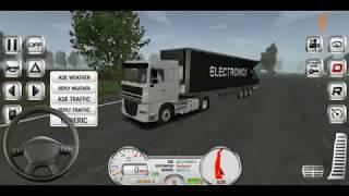 Super truck accident simulator