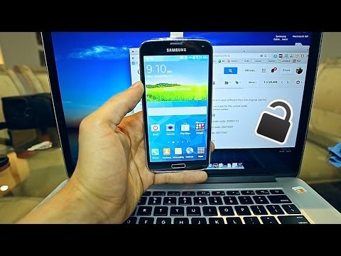 How To Unlock Samsung Galaxy S5 - Very simple and Easy.