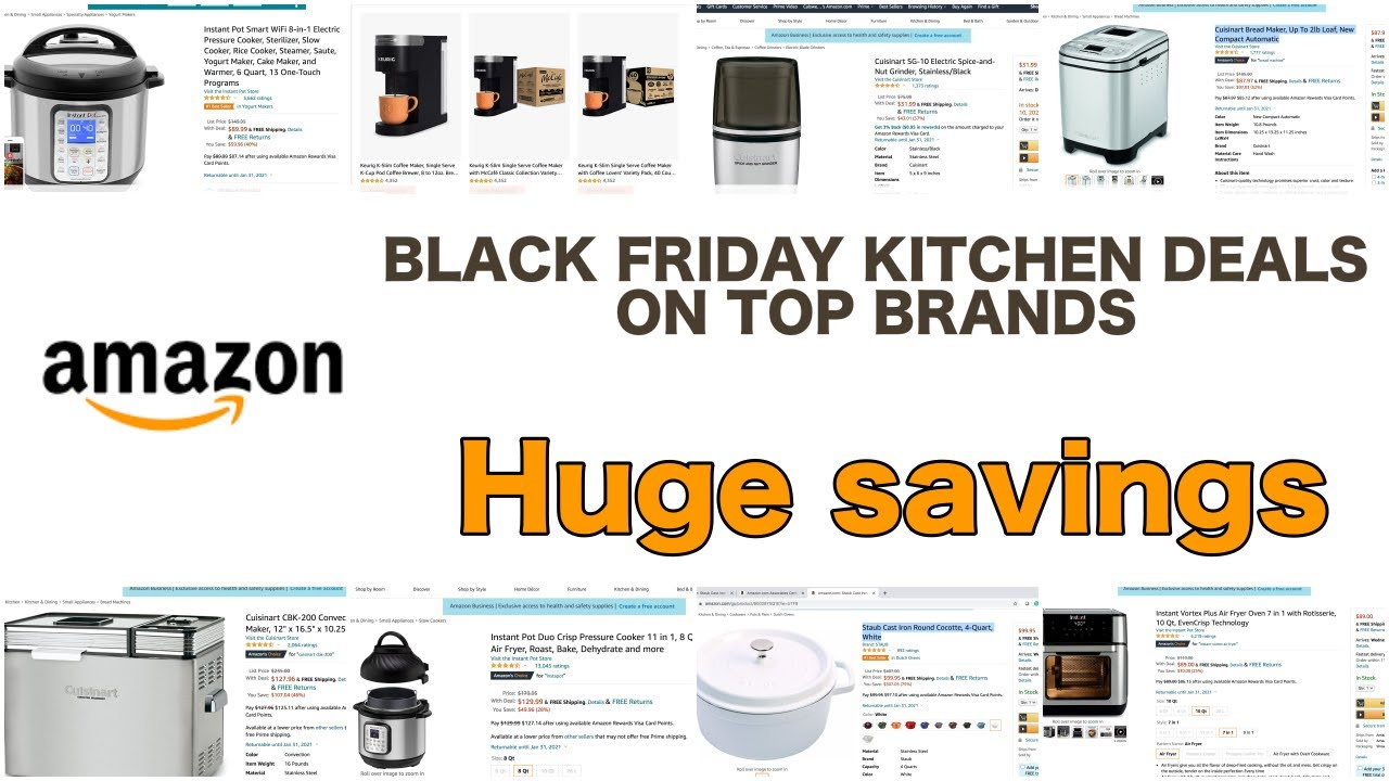 Amazon Black Friday 2020: The Best Home & Kitchen Deals On ...