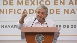 López Obrador ofrece reconstrucción a afectados del ciclón Willa en México