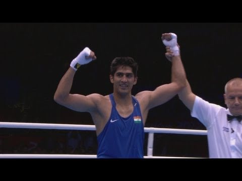 Vijender v Terrell Gausha - Boxing Middle (75kg) Round of 16 | London 2012 Olympics