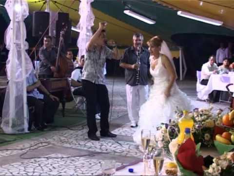 george udila, george miu si marius turneanu la nunta lui adrian si coca 2010
