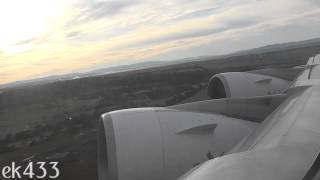 The Emirates A380 | Sunrise Departure | Melbourne Tullamarine International | EK406