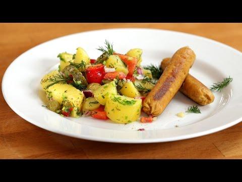 vegane-würstchen-und-frühlings-kartoffelsalat