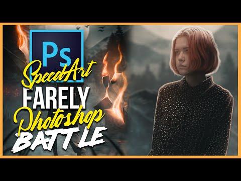 Мистическая обработка в Photoshop! Farely Photoshop Battle! #2