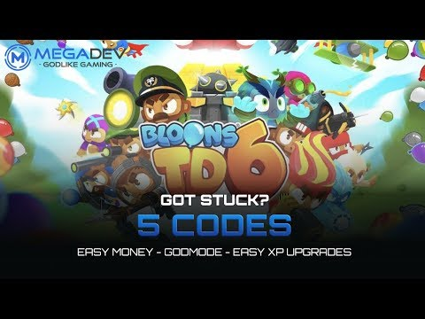 BLOONS TD 6 Cheats: Easy Money, Godmode, Easy XP Upgrades, ...   Trainer By MegaDev