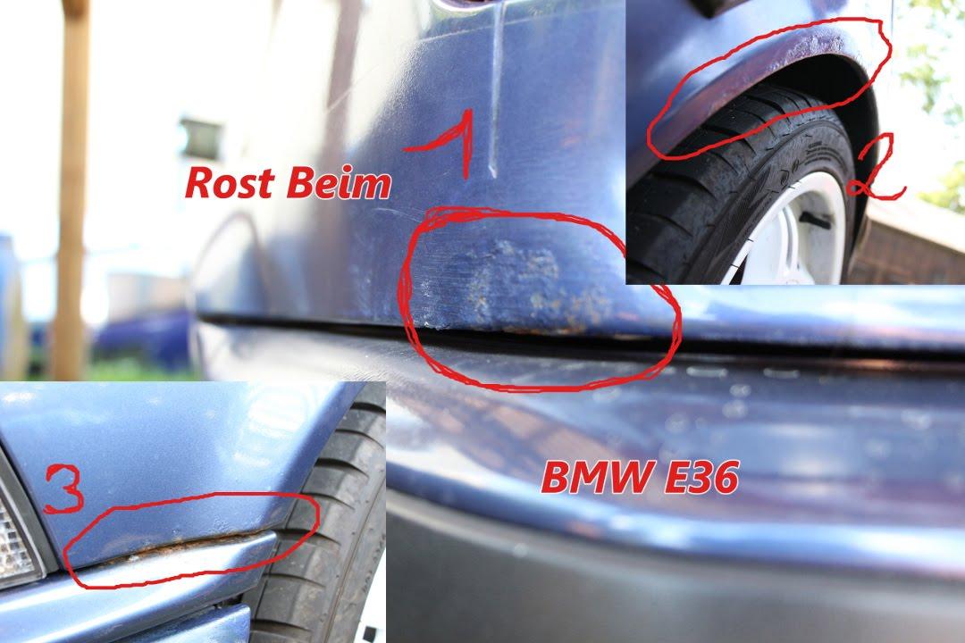 Bmw E36 Roststellen Youtube