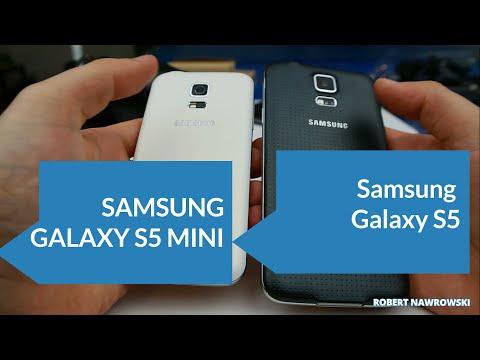 Samsung Galaxy S5 vs. Samsung Galaxy S5 Mini  Porównanie 1 Obudowa i wygląd | Robert Nawrowski