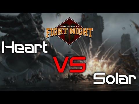 Team Gravity's Fight Night - Heart vs Solar