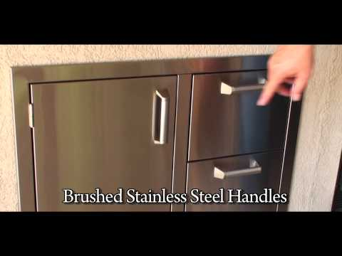 Pacific Single Access Door and DoubleDrawer Combo www.LottaZing