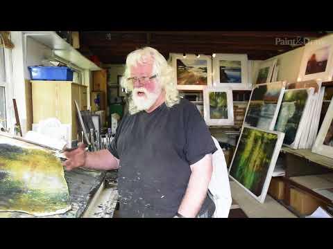 Peter Gilbert artist studio