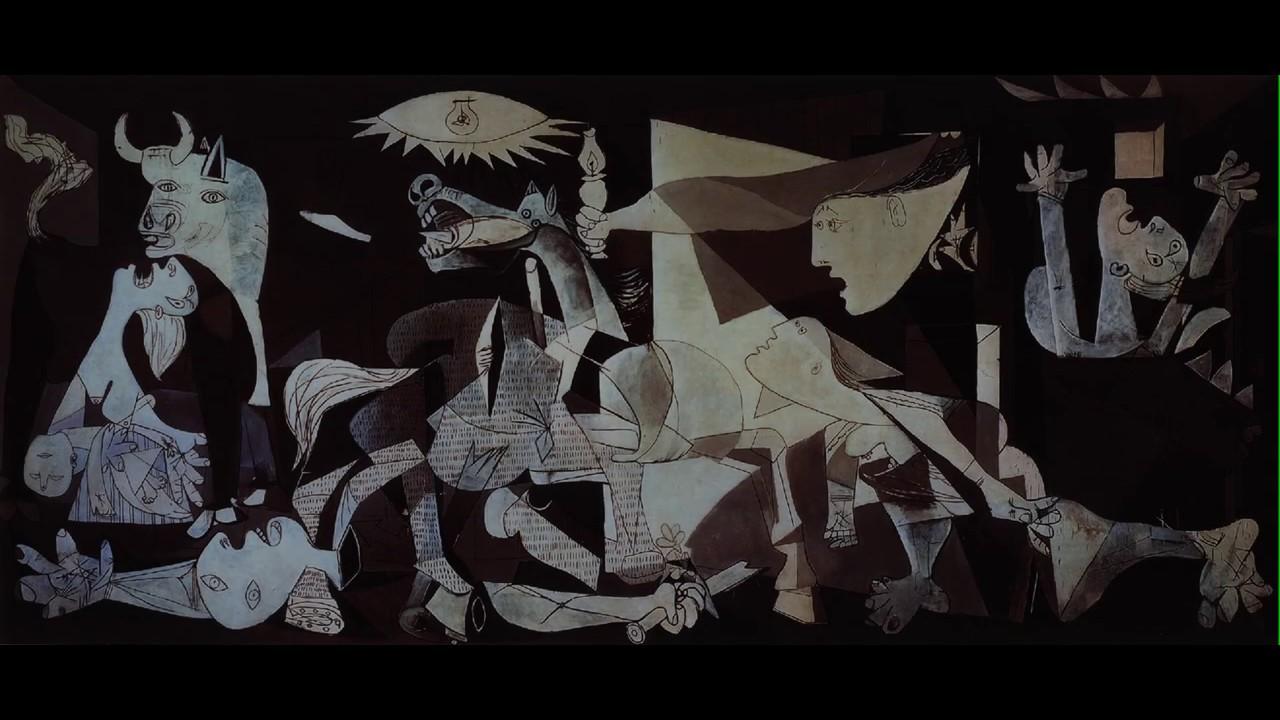 Analyse du tableau Guernica de Picasso - YouTube