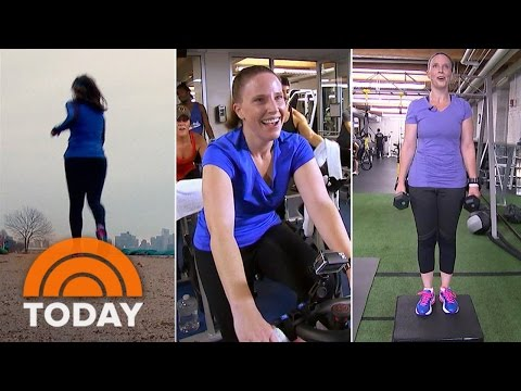 Which Exercises Burns The Most Calories: Jogging, Spinning, Personal Training | TODAY
