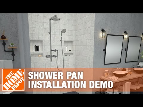 Tile Redi Shower Pan Installation Demo | The Home Depot