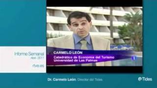 Extracto participación de Carmelo León en el programa de tve1 Informe Semanal