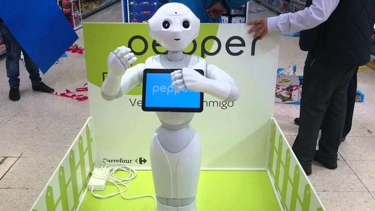 Pepe el robot del carrefour youtube - Robot cuisine carrefour ...