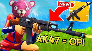 THE *NEW* HEAVY AR IS OP!! (Fortnite Funniest Moments & FAILS #8)