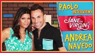 """""""Jane the Virgin"""" Star Andrea Navedo on fame, living her dream & Britney Spears!"""