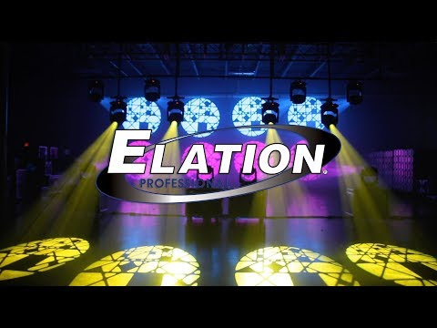 Demo: Elation Artiste Picasso LED