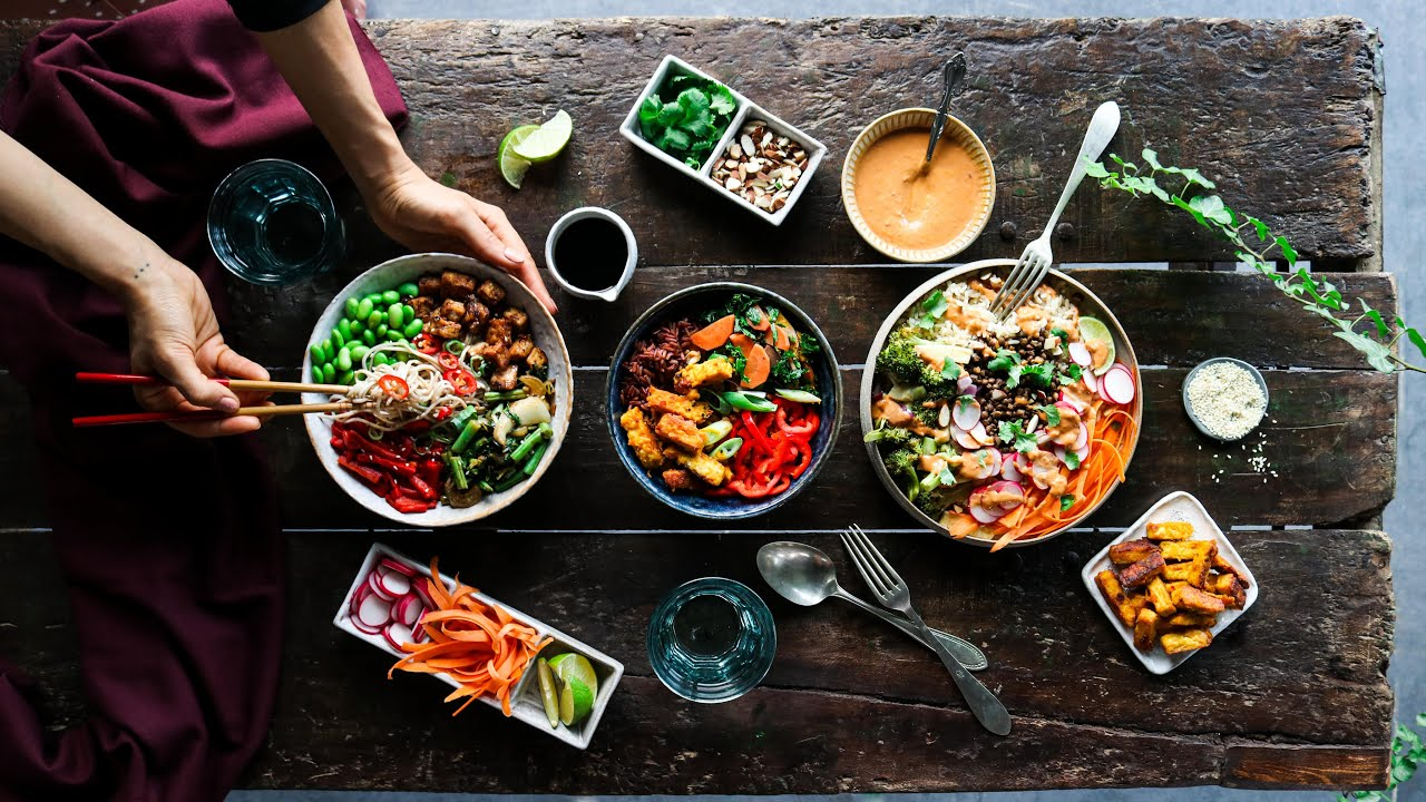 Wholesome nourish bowls » 3 ways