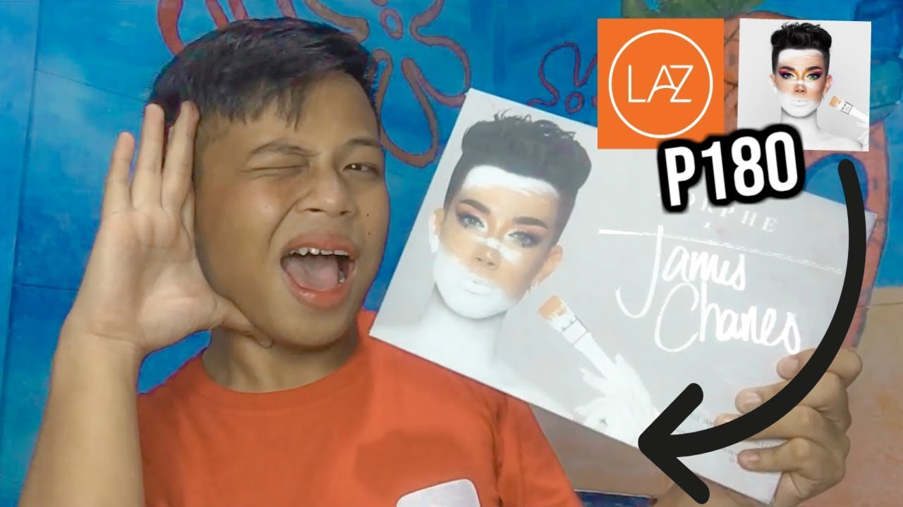 FAKE JAMES CHARLES PALLETE REVIEW l PHILIPPINES