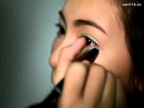 Makeup  gương mặt  rạng rỡ và đôi mắt to tròn (Trang điểm misskhue)