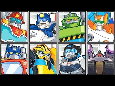 Transformers Rescue Bots | Disaster Dash | Mission 1 Complete 1080 HD