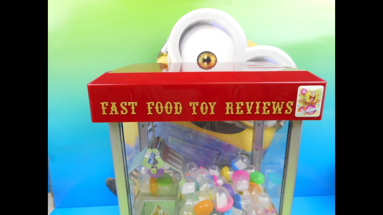 The Mystery Claw Machine By Fastfoodtoyreviews Episode 1 Youtube