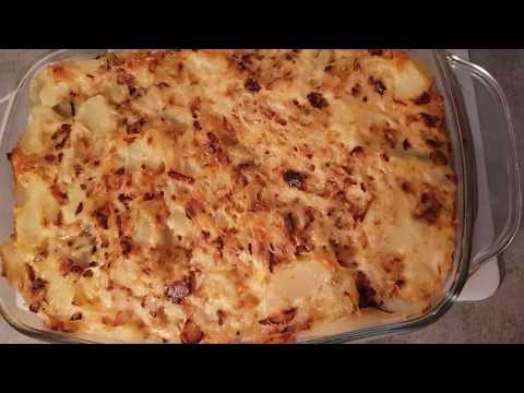 gratin-pomme-de-terre-aubergine-et-Œuf-trÈs-rapide