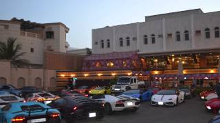 Lamborghini club at Reem Al-bawadi in jeddah