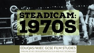 Invention of the Steadicam by Garrett Brown - 1970s - GCSE Film Timeline video 9 of 10