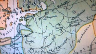 Старые карты годы 300-1300