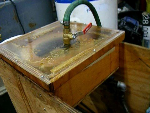 Homemade Wooden Wvo Svo Centrifuge Youtube