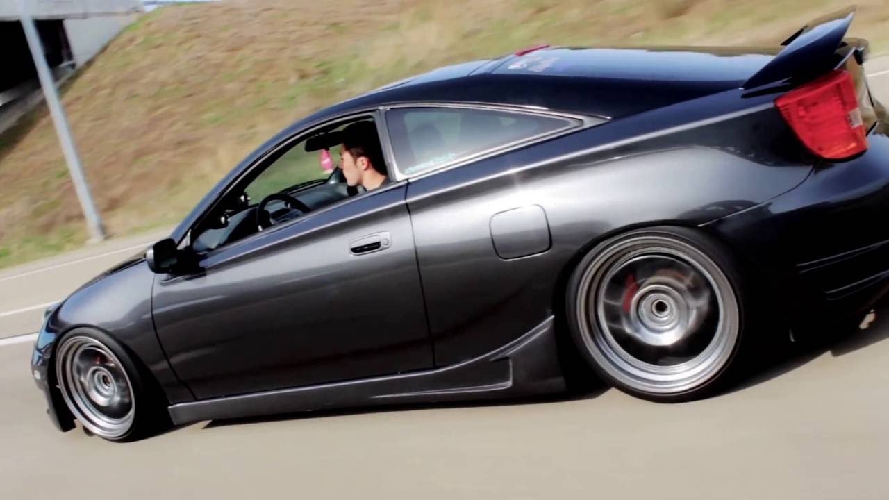 Stanced Celica Gts Stancenation Youtube