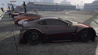 Livestream - GTA 5 - TRACK CAR MEET and Racing Playlist PS4