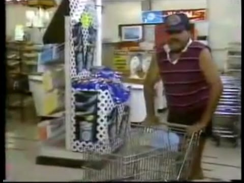 Billy T James goes shopping