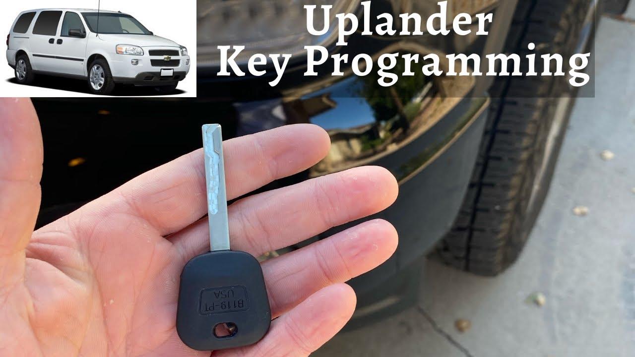 How To Program A Chevy Uplander Key 2005 2009 Diy Chevrolet