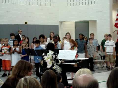 Timothy's Promotion Ceremony Of 2009 @ Bridgeport Elementary School (06-11-2009)