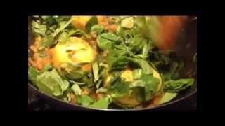 Egg Recipes - Methi Egg Pepper Fry -  Methi Egg Curry - Indian Egg Recipes