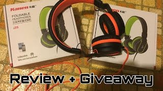 Review + Giveaway: Kanen/Ailihen i35 Headphones