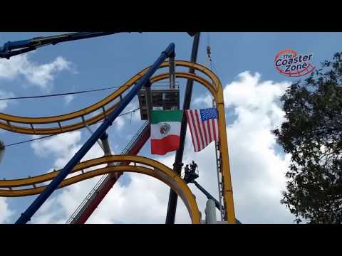 Ya está armada Wonder Woman Coaster en Six Flags México