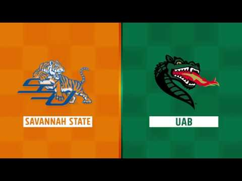 Highlights: Savannah State at UAB, Week 1