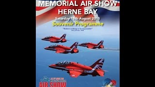 Amy Johnson Memorial Air Show Herne Bay 2015 (Sat 15th Aug) (HD)
