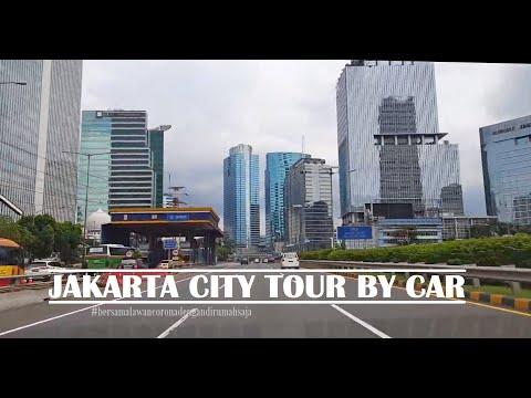 Driving in Jakarta Inner Ring Road (Tol Dalam Kota Jakarta) ~ ASMR Drive by Car