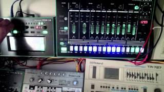 Roland TR8 TB3 TR727 TB303 - TECHNO by Honeysmack