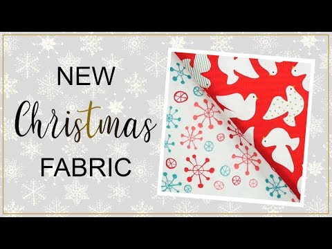 Christmas Sewing Catalog: New 100% Cotton Fabric