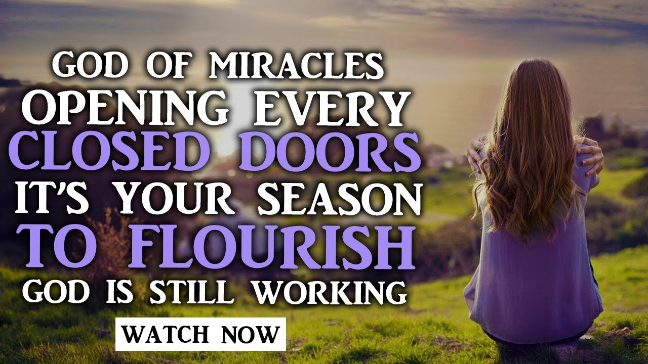 YOUR STRUGGLES ARE OVER YOU WILL FLOURISH AGAIN GOD PROMISES NEVER FAIL - Christian Motivation